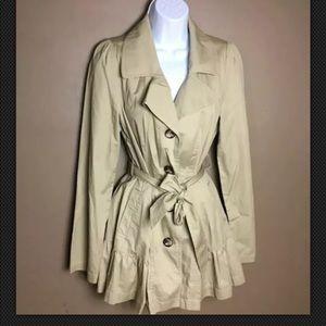 BNWT Decree Nantucket Khaki Jacket Large